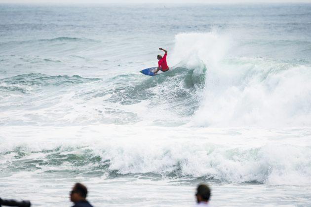 Beyrick De Vries, UR ISA World Surfing Games 2018, Long Beach, Tahara, Japão. Foto: ISA / Ben Reed.