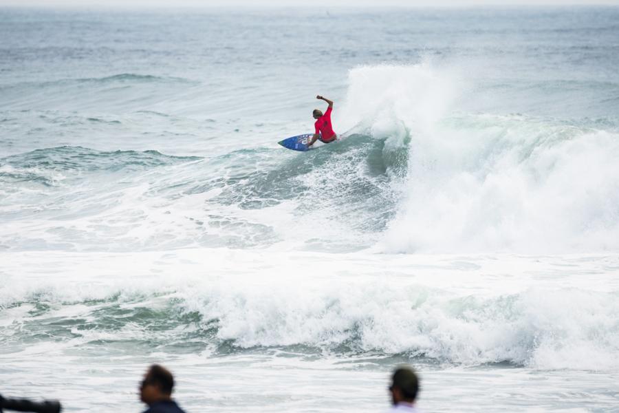 Beyrick De Vries, UR ISA World Surfing Games 2018, Long Beach, Tahara, Japão.
