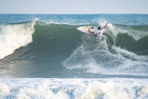 Santiago Muniz, UR ISA World Surfing Games 2018, Long Beach, Tahara, Japão. Foto: ISA / Ben Reed.