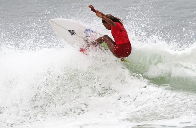 Yanca Costa, Rio Surf Pro Brasil 2018, Grumari, Rio de Janeiro (RJ). Foto: Pedro Monteiro.