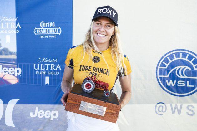 Stephanie Gilmore, Surf Ranch Pro 2018, Lemoore, Califórnia (EUA). Foto: WSL / Cestari.