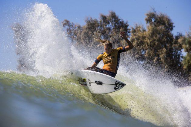 Stephanie Gilmore, Surf Ranch Pro 2018, Lemoore, Califórnia (EUA). Foto: WSL / Rowland.