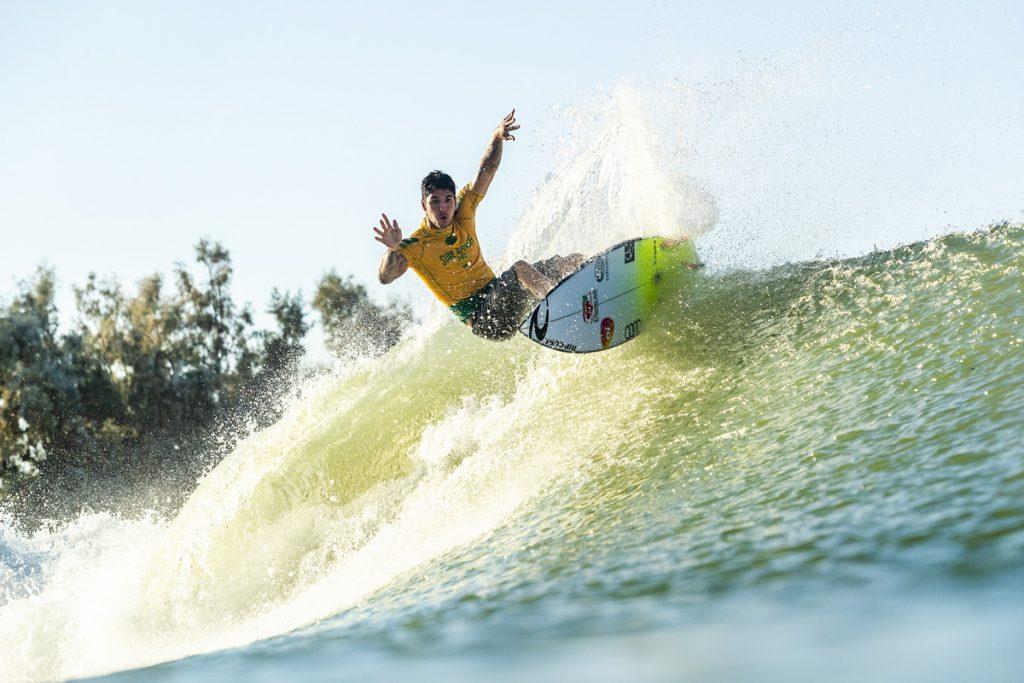 Gabriel levará dois modelos diferentes para o Surf Ranch Pro.