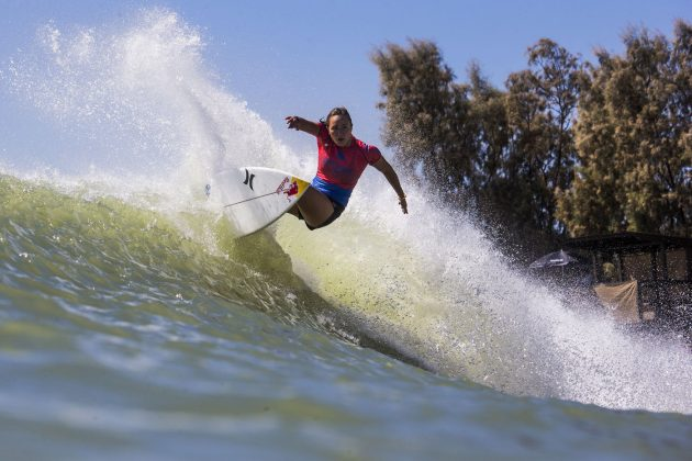 Carissa Moore, Surf Ranch Pro 2018, Lemoore, Califórnia (EUA). Foto: WSL / Rowland.