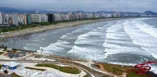 Quebra-Mar, Santos (SP).