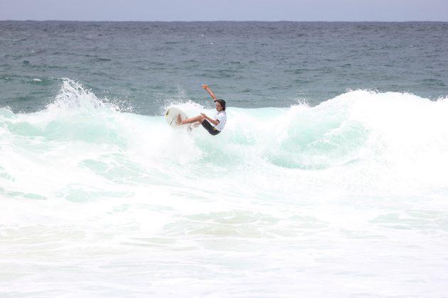 Caio Knappi, Itacoatiara Open de Surf 2018, Niterói (RJ). Foto: @surfetv / @carlosmatiasrj.