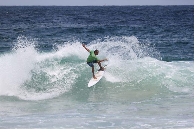 Rafael Mignani, Itacoatiara Open de Surf 2018, Niterói (RJ). Foto: @surfetv / @carlosmatiasrj.