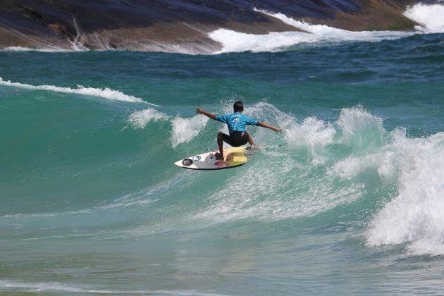Ruan Antony, Itacoatiara Open de Surf 2018, Niterói (RJ). Foto: @surfetv / @carlosmatiasrj.