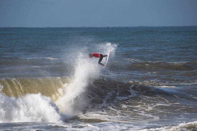 Julian Wilson, MEO Rip Curl Pro Portugal 2018, Supertubos, Peniche. Foto: Luca Castro.