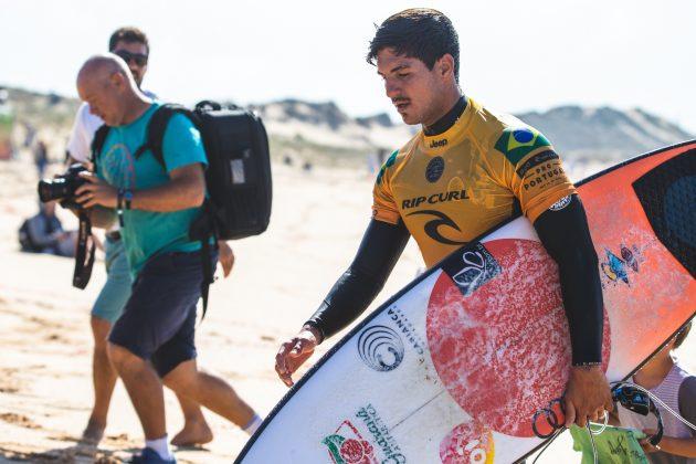 Gabriel Medina, MEO Rip Curl Pro Portugal 2018, Supertubos, Peniche. Foto: Luca Castro.