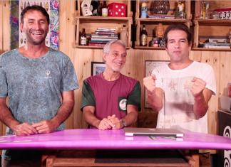 Renan Rocha, Edinho Leite e Tiago Brant
