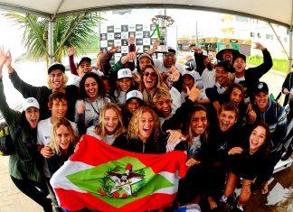 CBSurf Júnior Tour 2018, Prainha, São Francisco do Sul (SC).