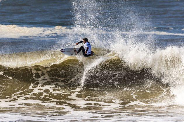 Miguel Blanco, MEO Rip Curl Pro Portugal 2018, Supertubos, Peniche. Foto: WSL / Poullenot.