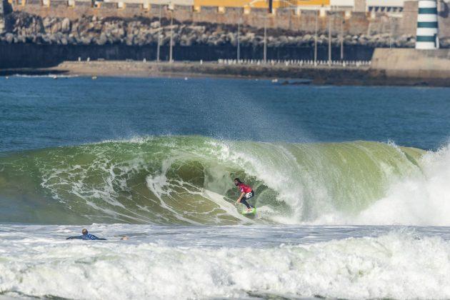 Wade Carmichael, MEO Rip Curl Pro Portugal 2018, Supertubos, Peniche. Foto: WSL / Poullenot.
