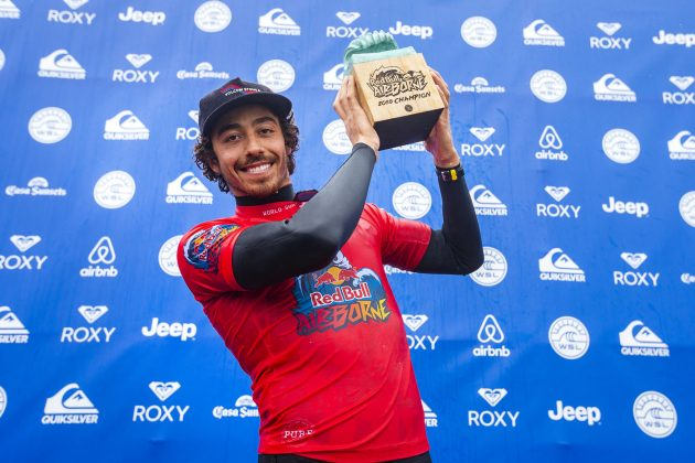 Yago Dora, Red Bull Airbone 2018, Culs Nus, França. Foto: WSL / Masurel.