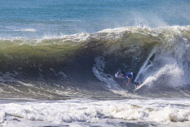 Jeremy Flores, MEO Rip Curl Pro Portugal 2018, Supertubos, Peniche. Foto: WSL / Masurel.