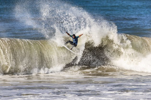 Tomas Hermes, MEO Rip Curl Pro Portugal 2018, Supertubos, Peniche. Foto: WSL / Poullenot.