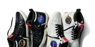 Vans homenageia a NASA