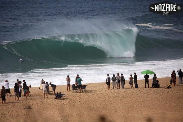Praia do Norte, Nazaré, Portugal. Foto: Arquivo pessoal.