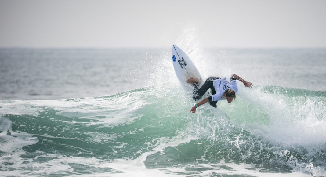 Grayson Hinrichs, Vissla ISA World Junior Championship 2018, Huntington Beach, Califórnia (EUA). Foto: ISA / Ben Reed.