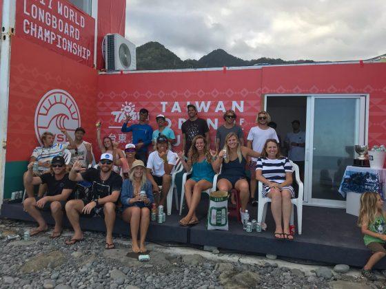 World Longboard Championship 2017, Taiwan, China. Foto: Arquivo pessoal.