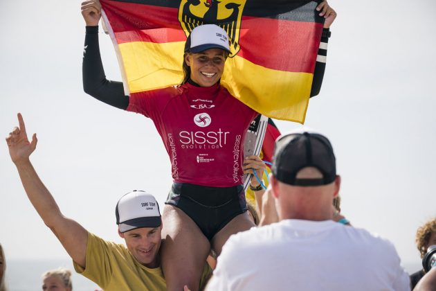 Rachel Presti, Vissla ISA World Junior Championship 2018, Huntington Beach, Califórnia (EUA). Foto: ISA / Ben Reed.