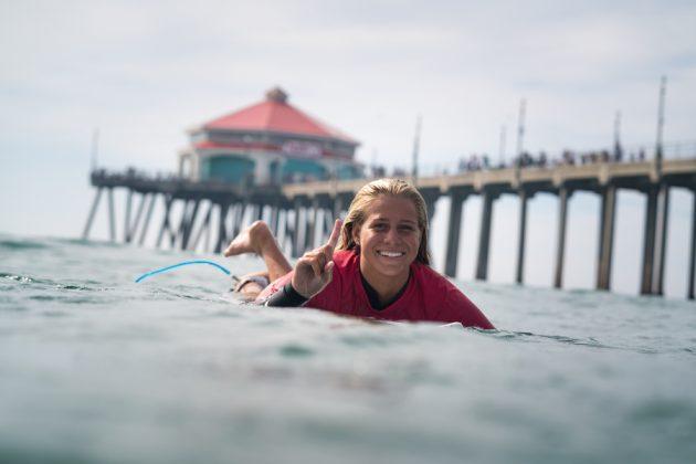 Rachel Presti, Vissla ISA World Junior Championship 2018, Huntington Beach, Califórnia (EUA). Foto: ISA / Sean Evans.