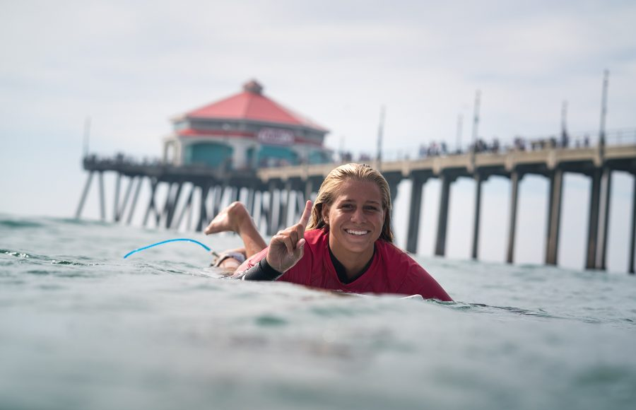 Rachel Presti, Vissla ISA World Junior Championship 2018, Huntington Beach, Califórnia (EUA). Foto: ISA / Sean Evans.