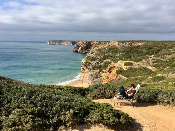 Praia do Beliche, Algarve, Portugal. Foto: Fernando Iesca.