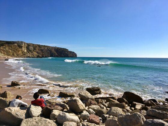 Praia do Zavial, Algarve, Portugal. Foto: Fernando Iesca.