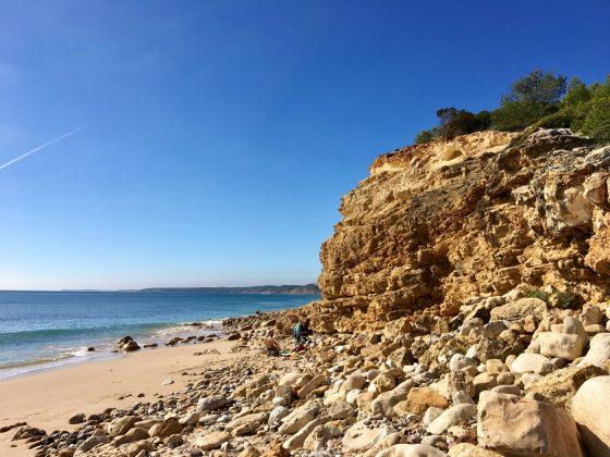 Praia das Cabanas Velhas, Algarve, Portugal. Foto: Fernando Iesca.