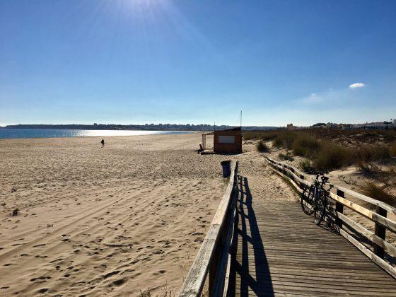 Meia Praia, Algarve, Portugal. Foto: Fernando Iesca.