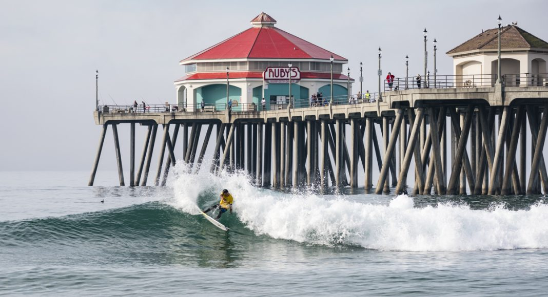 Keanu Kamiyama, Vissla ISA World Junior Championship 2018, Huntington Beach, Califórnia (EUA). Foto: ISA / Ben Reed.