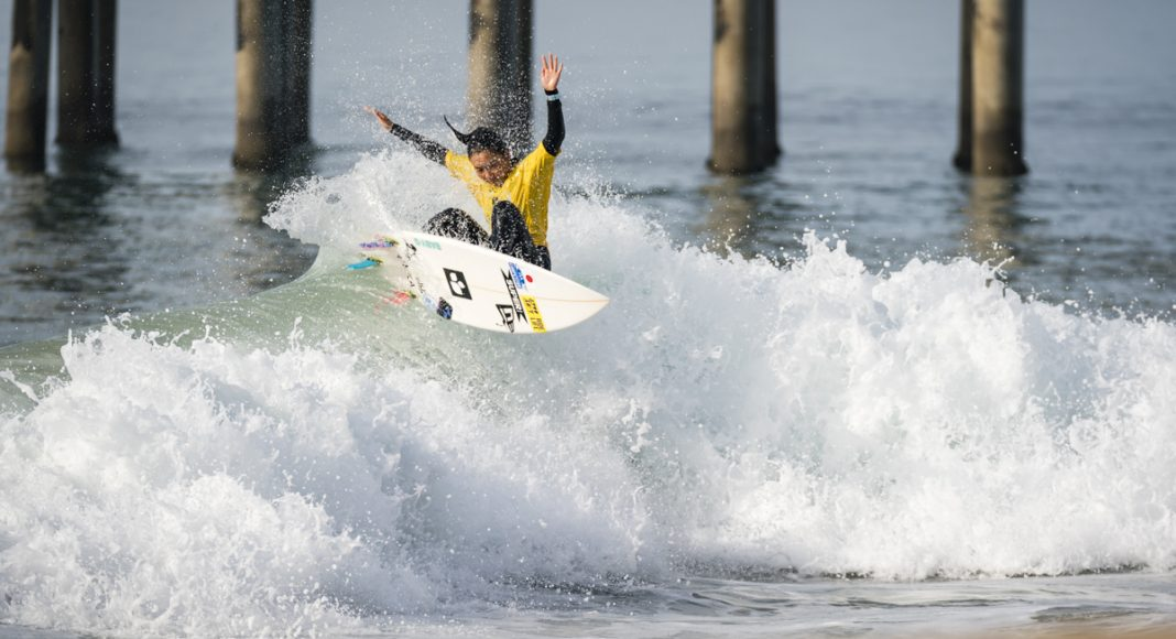 Minami Nonaka, Vissla ISA World Junior Championship 2018, Huntington Beach, Califórnia (EUA). Foto: ISA / Ben Reed.