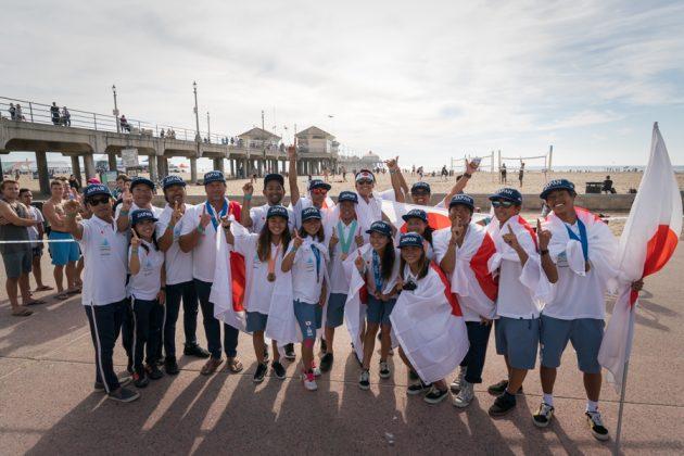 Vissla ISA World Junior Championship 2018, Huntington Beach, Califórnia (EUA). Foto: ISA / Sean Evans.