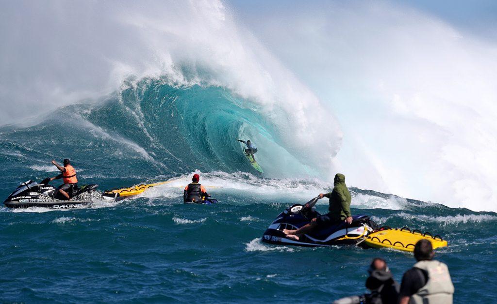 Jaws Challenge 2018, Pe´ahi, Havaí