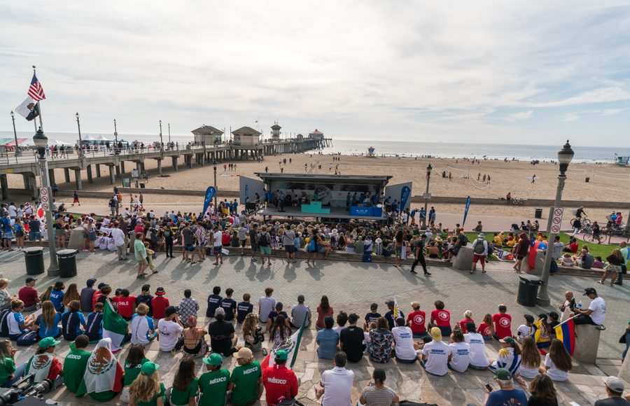 Vissla ISA World Junior Championship 2018, Huntington Beach, Califórnia (EUA). Foto: ISA / Sean Evans.