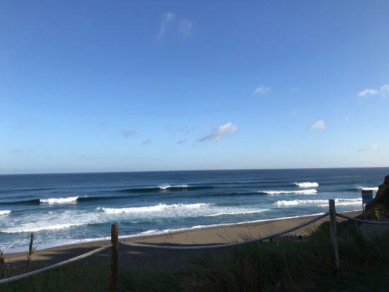 Praia de Santa Barbara, Mundial Master 2018, Açores, Portugal. Foto: Arquivo pessoal Fabio Gouveia.