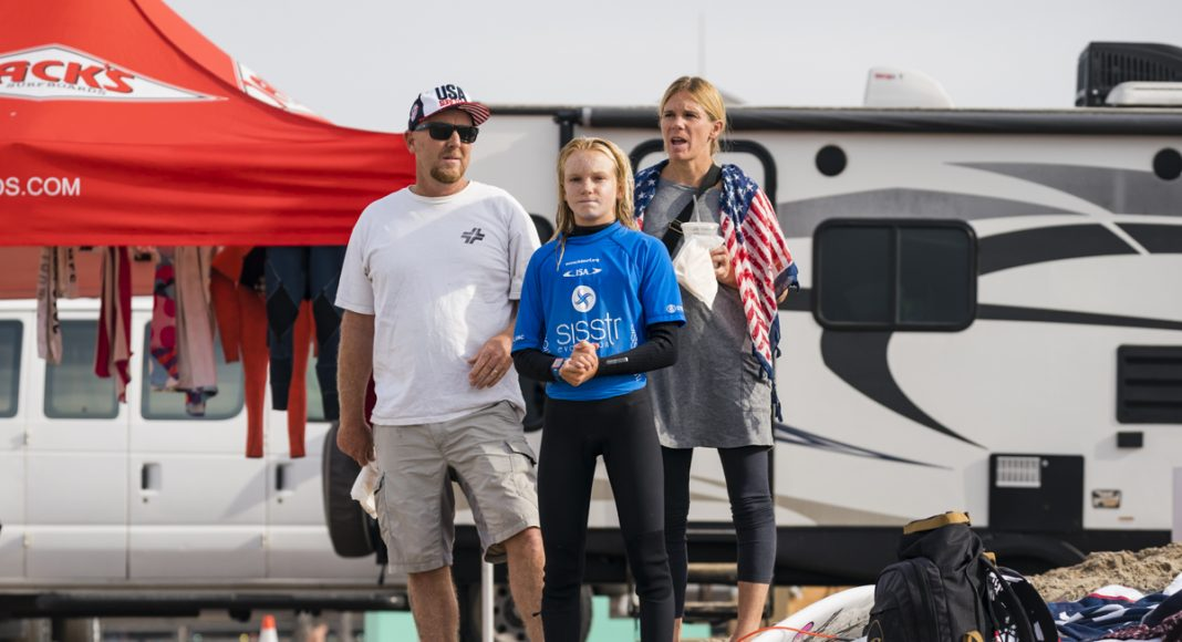 Caitlin Simmers, Vissla ISA World Junior Championship 2018, Huntington Beach, Califórnia (EUA). Foto: ISA / Ben Reed.