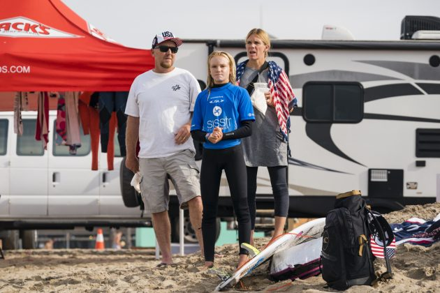 Caitlin Simmers, Vissla ISA World Junior Championship 2018, Huntington Beach, Califórnia (EUA). Foto: ISA / Ben Reed.