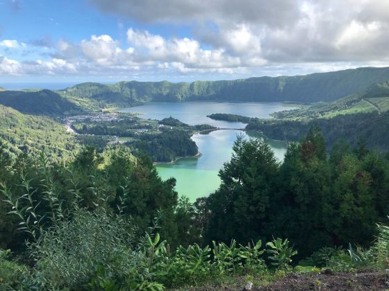 Visual incrível, Mundial Master 2018, Açores, Portugal. Foto: Arquivo pessoal Fabio Gouveia.