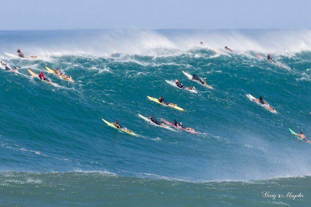 Waimea Bay, North Shore de Oahu, Havaí. Foto: Gary Miyata.