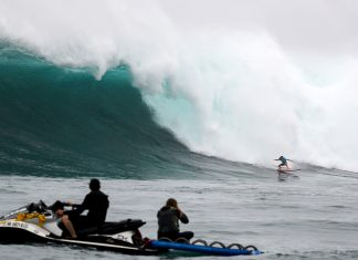Women´s Jaws Challenge 2018, Pe´ahi, Havaí