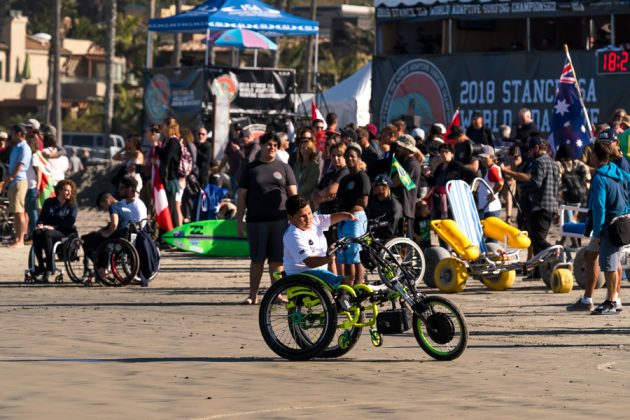 Davi Teixeira, ISA World Adaptive 2018, La Jolla, Califórnia (EUA). Foto: ISA / Sean Evans.