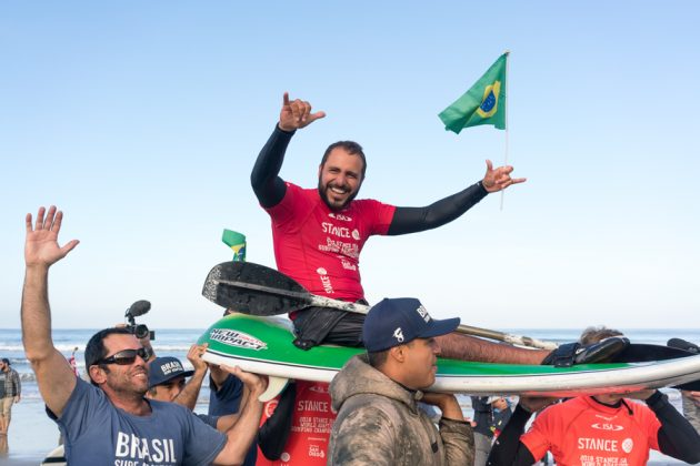 Fellipe Kizu Lima, ISA World Adaptive 2018, La Jolla, Califórnia (EUA). Foto: ISA / Sean Evans.
