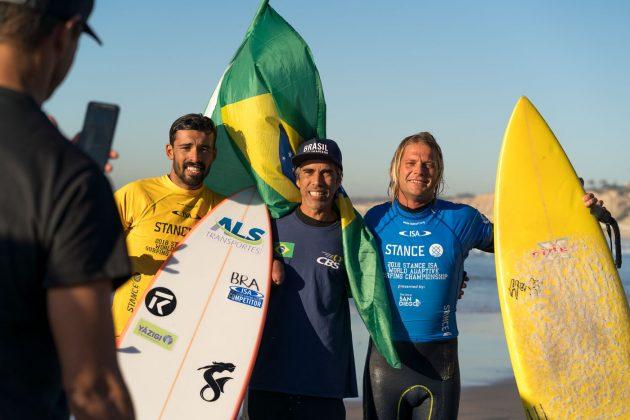 Robson Gasper e Jonathan Borba, ISA World Adaptive 2018, La Jolla, Califórnia (EUA). Foto: ISA / Sean Evans.