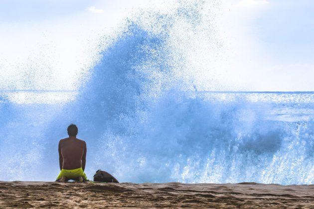 Carlos Coelho, Makaha, West Side de Oahu, Havaí. Foto: Sebastian Rojas.