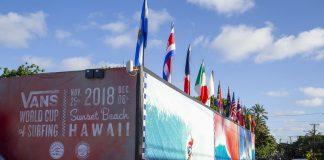 Vans World Cup 2018, Sunset, North Shore de Oahu, Havaí