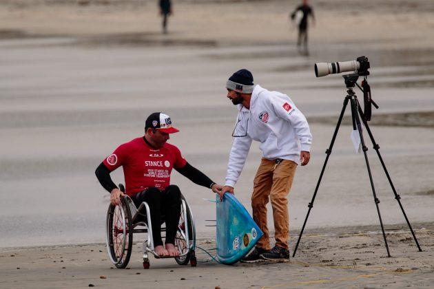 Christian Bailey, ISA World Adaptive 2018, La Jolla, Califórnia (EUA). Foto: ISA / Chris Grant.