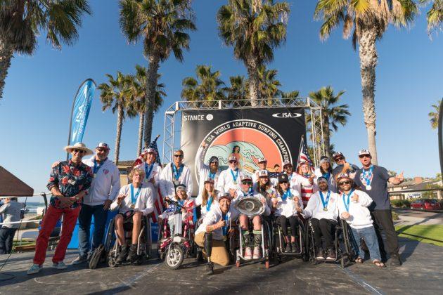 ISA World Adaptive 2018, La Jolla, Califórnia (EUA). Foto: ISA / Sean Evans.